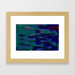 Flash Work Framed Art Print