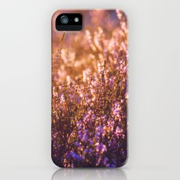 golden heather iPhone Case