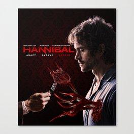 "Hannibal - Will Graham ""Adapt Evolve Become"" Print Canvas Print"