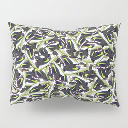 "KB Zoom 5 ""Chaos"" - Collage Print Pillow Sham"