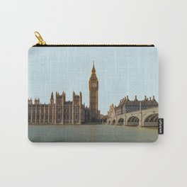 London, England Travel Artwork Carry-All Pouch