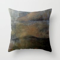 imagerybydianna Throw Pillows featuring shatter by Imagery by dianna