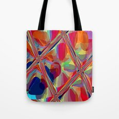 Re-Created  Glass Ceiling VIII by Robert S. Lee Tote Bag