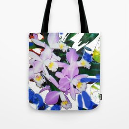 ORCHIDS that I love.                                         by Kay Lipton Tote Bag