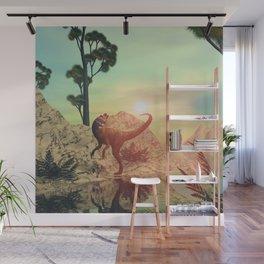 Dilophosaurus Wall Mural