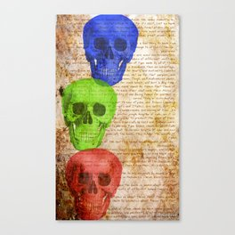 Skull Deep! Canvas Print
