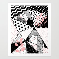 Intersections Art Print