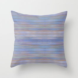 Colorful Abstract Stripped Pattern Throw Pillow