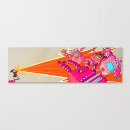 Yoshimi Battles the Pink Robots Canvas Print