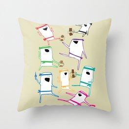 Karate Throw Pillow