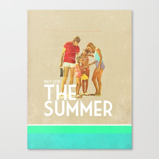 For The Summer Canvas Print