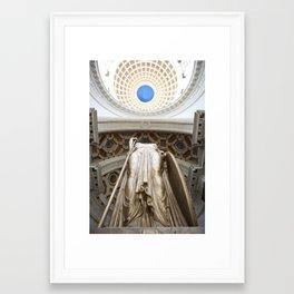 La Estatua de la República Framed Art Print