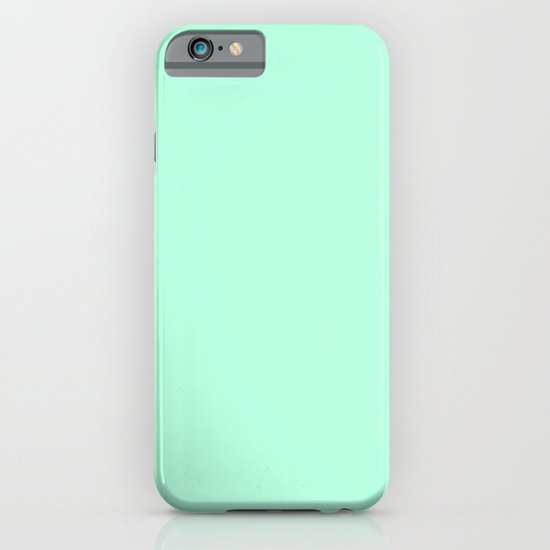 SOLID MINT iPhone & iPod Case