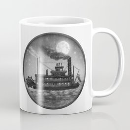 Paddle Boat  Coffee Mug