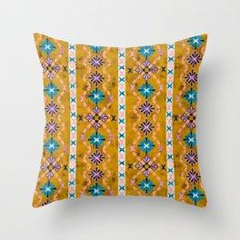 Boho Basic 3 Dandelion Throw Pillow