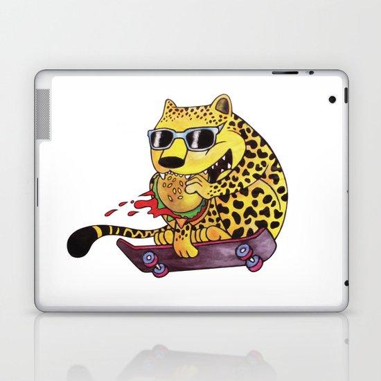 Skating Cheetah Laptop & iPad Skin