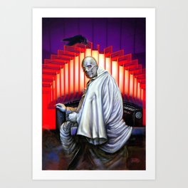 Dr. Phibes Vincent Price horror movie monsters Art Print