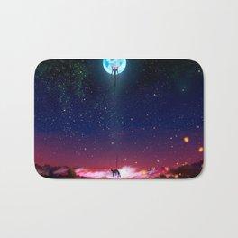 Evangelion Moon Bath Mat
