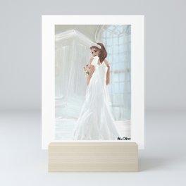 bride to be Mini Art Print