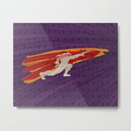 """My Friend Here Is Thirsty For Blood (Homage to Vega of """"Street Fighter"""") Metal Print"""