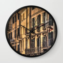 Verona House Architecture Wall Clock