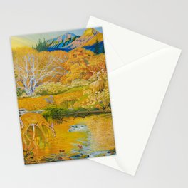 First Encounter Stationery Cards