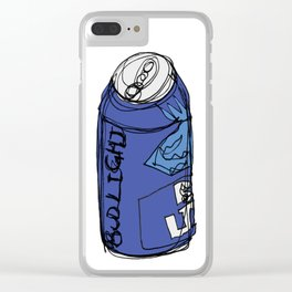 Bud Light Can Clear iPhone Case