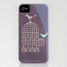 Leaving the Birdcage Slim Case iPhone (4, 4s)