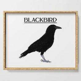 BLACKBIRD Serving Tray