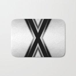 Double X Bath Mat