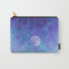 Violet Galaxy: Lunar Eclipse Carry-All Pouch