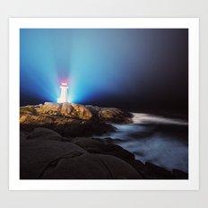 Luminous Light Art Print