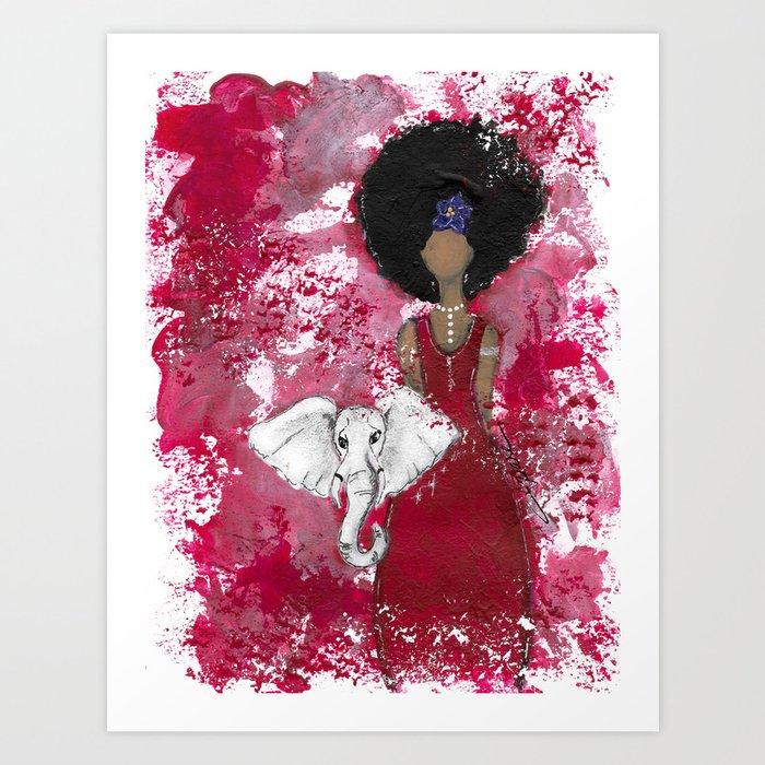 Delta Angel Art Print