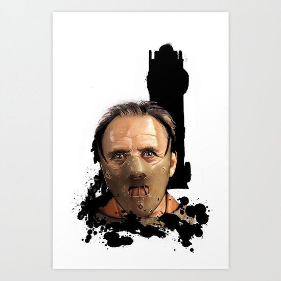 Hannibal Lecter: Monster Madness Series Art Print
