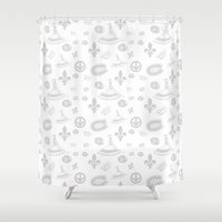 montreal Shower Curtains featuring montreal  by meli_lebain