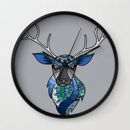 Yes, Deer Wall Clock