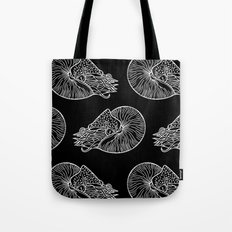 Nautilus in White Tote Bag