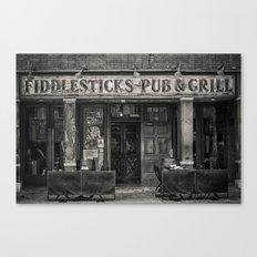 Fiddlesticks Pub Canvas Print
