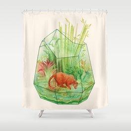 Tigerrarium Shower Curtain