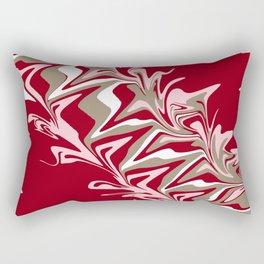 RED VIBRANCE Rectangular Pillow