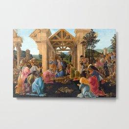 Sandro Botticelli The Adoration of the Magi Metal Print
