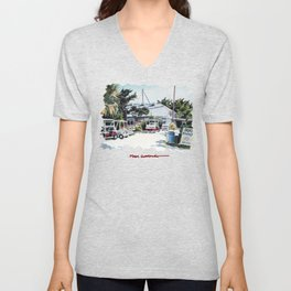 Boca Grande Unisex V-Neck