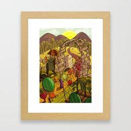Fully Grown Framed Art Print