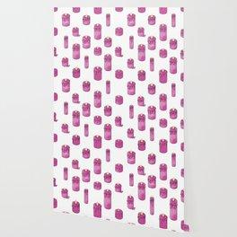 Candle Lit Pattern Wallpaper