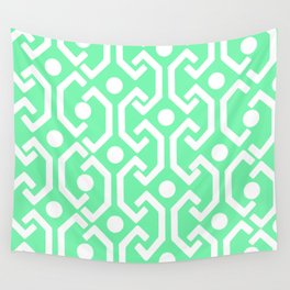 Ethnic Pattern (Mint) Wall Tapestry