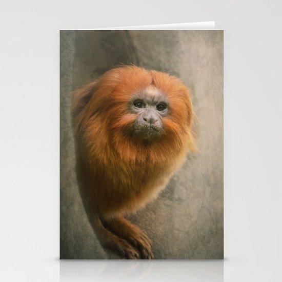 Little Golden Headed Lion Tamarin Stationery Cards