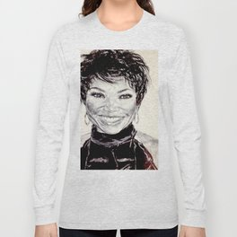 TISHA CAMPBELL Long Sleeve T-shirt