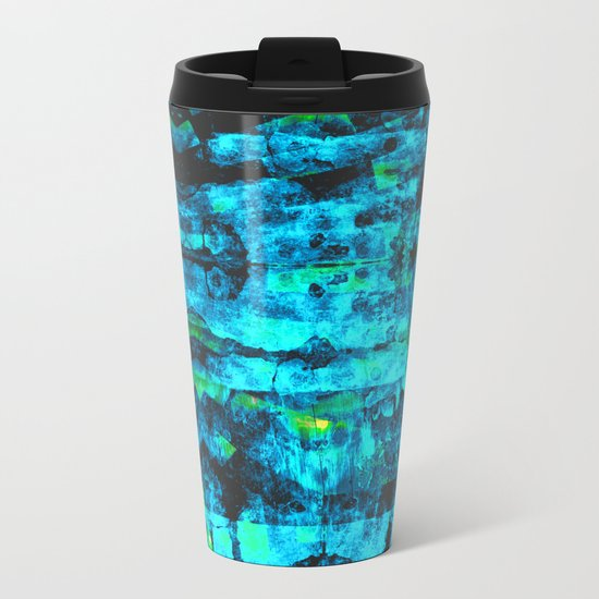 Bioluminescence Metal Travel Mug