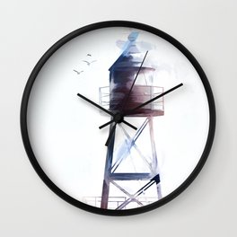 North,South,West and East Wall Clock