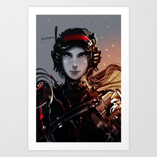 Cybergen Ver3 Art Print